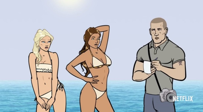 'Archer' fans, meet 'Pacific Heat'