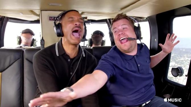 Plug your ears: 'Carpool Karaoke' gets its own series