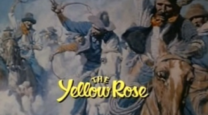 'The Yellow Rose': 80s primetime soap could have been a contender