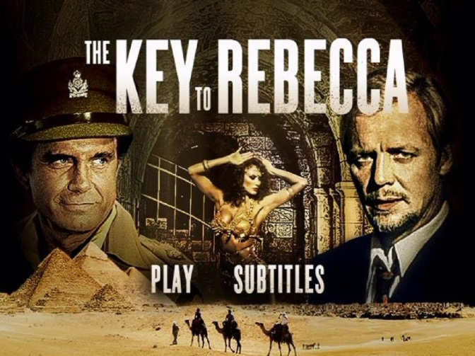'The Key to Rebecca' (1985): Intrigue, suspense & threesomes power indie spy miniseries