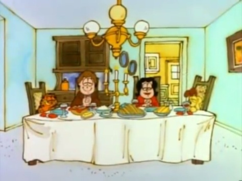 Garfield's Thanksgiving 05