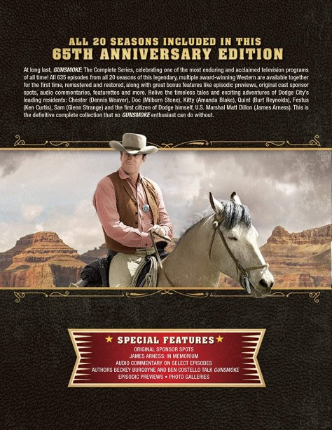 Gunsmoke The Complete Series 65th Anniversary Collection boxset 2
