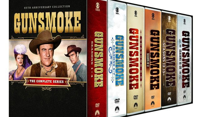 VIDEO: 'Gunsmoke' – Unboxing the Complete Series on DVD