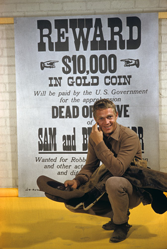 "Steve McQueen in ""Wanted: Dead or Alive"" 1959 © 1978 Gene Trindl"